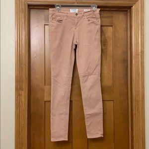 Frame Denim Le Skinny de Jeanne Jeans in Nude 28